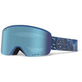 Giro Axis Maschera, blu